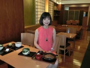 銀座 和カフェ おでかけ女史組Midoriさん