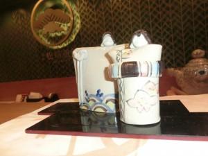松﨑煎餅お茶席 ひな人形