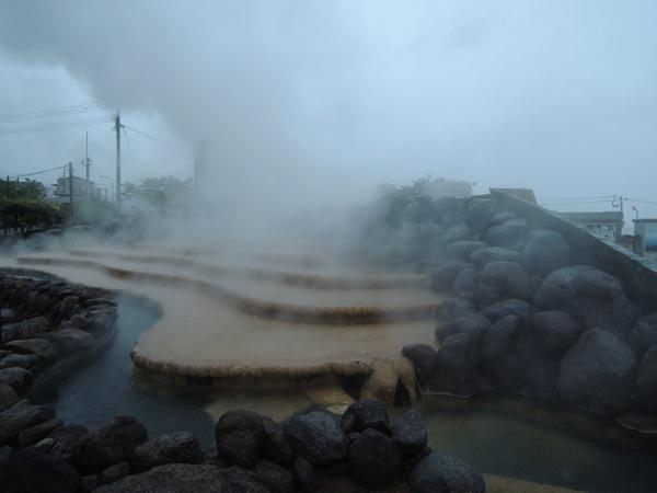 小浜温泉の足湯