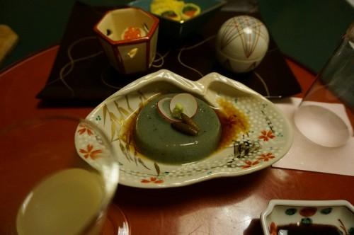 滝亭 蓬豆腐