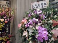 牧阿佐美バレエ団 タカラジェンヌさんからの花