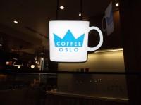 五反田 オスロコーヒー 看板