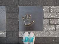 トムクルーズさんの手形