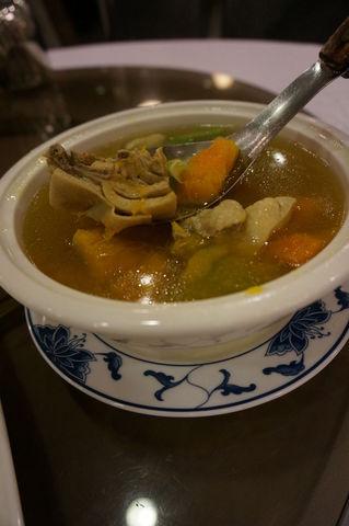 鳥肉とかぼちゃのスープ