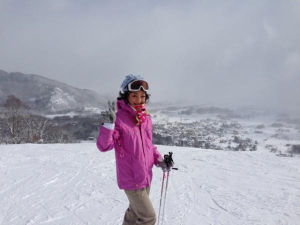 白馬八方尾根スキー場 おでかけ女史組