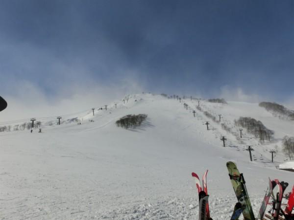 白馬八方尾根スキー場 ゲレンデ
