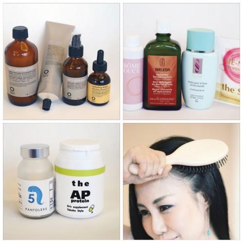 美香さんおすすめのヘアケアアイテム