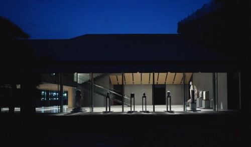 夜の根津美術館
