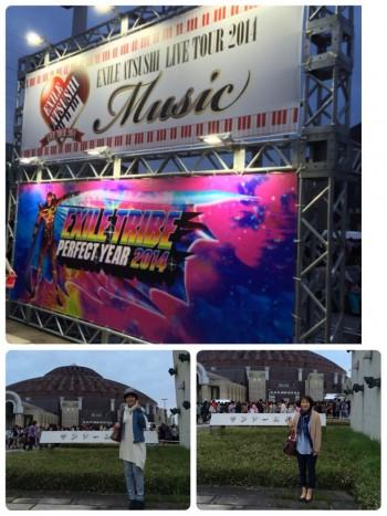 EXILE ATSUSHI SOLO LIVE 会場風景