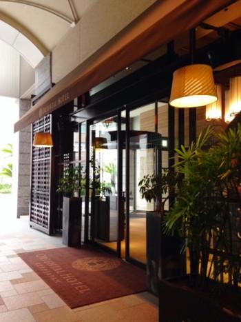 旧居留地のオリエンタルホテル 玄関