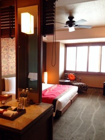 オリエンタルホテル 部屋の内装