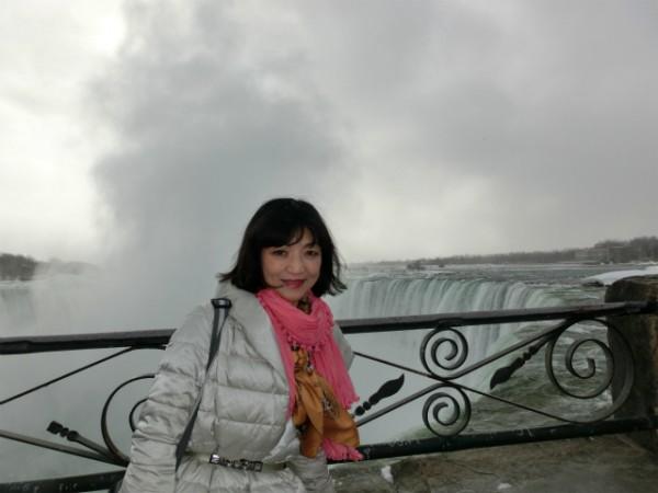 ナイアガラの滝 おでかけ女史Midoriさん