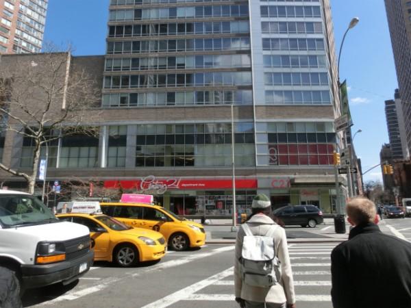 ニューヨーク センチュリー21 外観