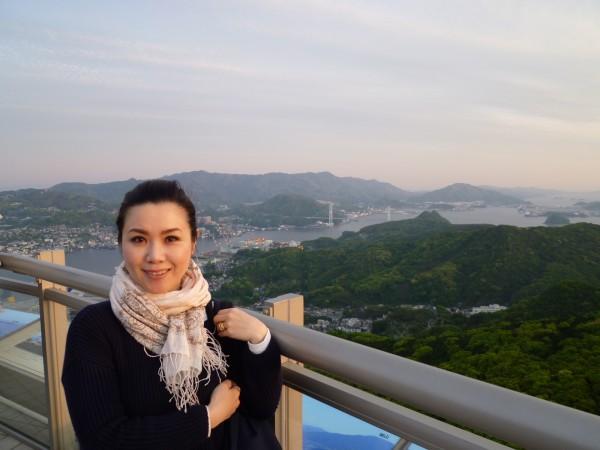 稲佐山からの景色 おでかけ女史組 Winterさん