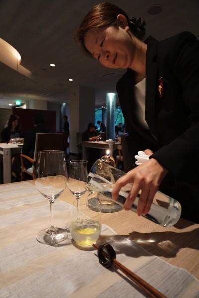 スターターの純米吟醸酒