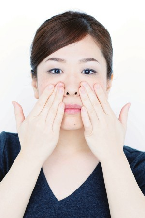 頬のエクササイズ