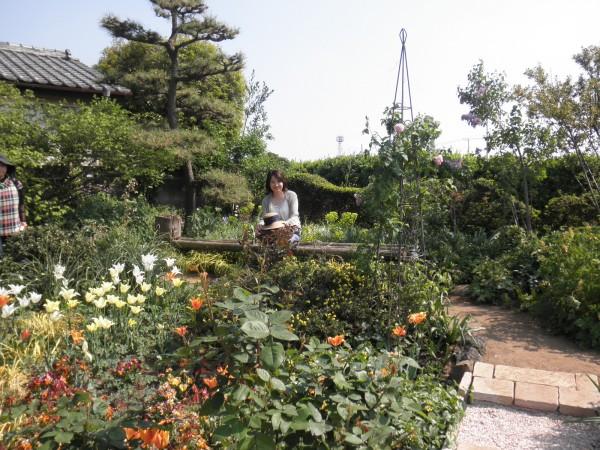 深谷花フェスタ オープンガーデン I地区