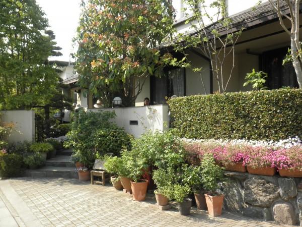 深谷花フェスタ 和風の庭