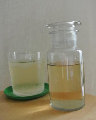 梅の酵素シロップ完成図