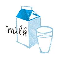 代表的なブレインフード・ミルクペプチド