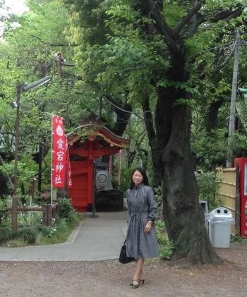 愛宕神社と響さん