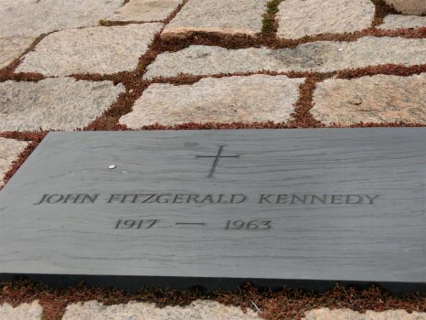 ジョン・F・ケネディ大統領のお墓
