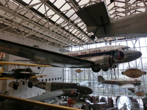 スミソニアン航空宇宙博物館 内観