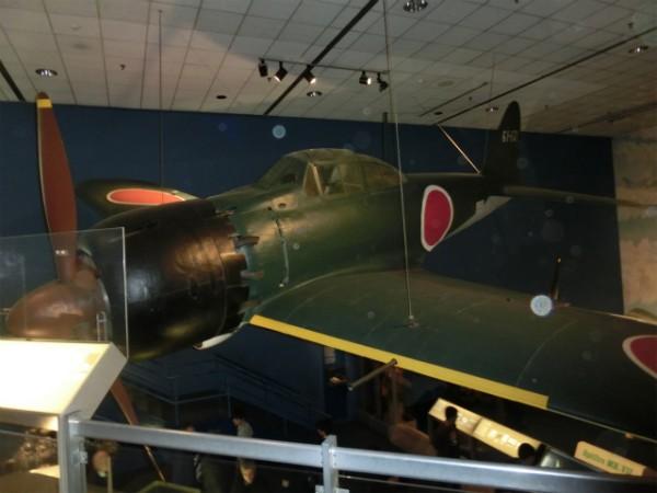 ゼロ戦 スミソニアン航空宇宙博物館