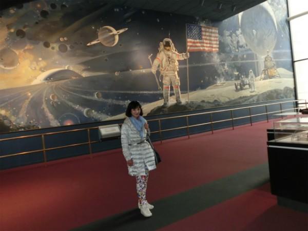 スミソニアン航空宇宙博物館 Midoriさん