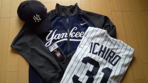 ヤンキーズ イチロー選手のユニフォーム