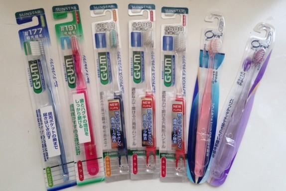 サンスターさんの歯ブラシ