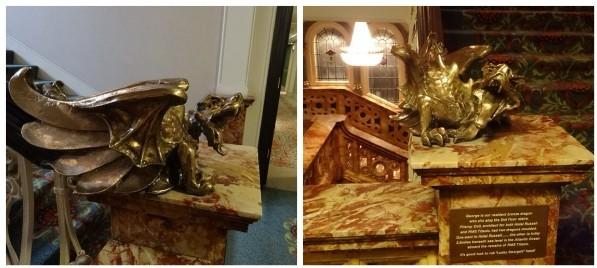 ホテル・ラッセル ドラゴン像