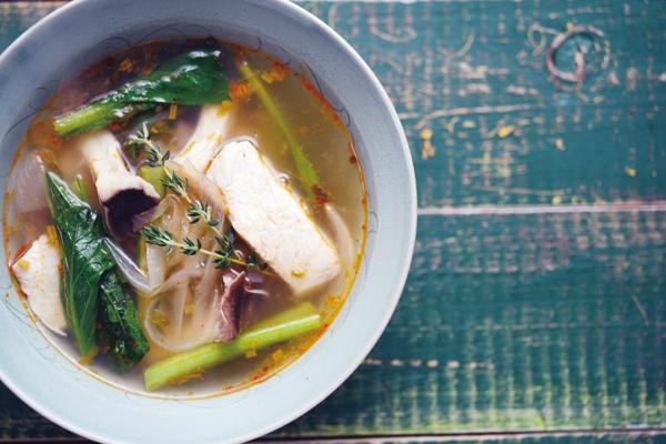 乳酸菌を育てるレシピ④/スパイスとハーブのスープで、腸内乳酸菌の元気をサポート:その2