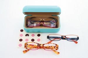 メガネと大きいサングラスケース