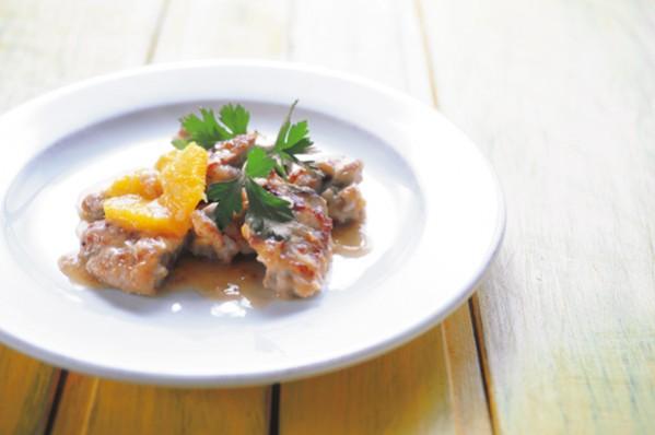 簡単おいしい「抗糖化メニュー」:酢を使った料理②鶏肉のオレンジビネガー煮込み