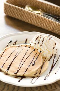 ホイップクリームパンケーキ