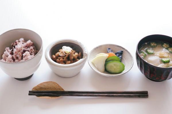 発酵パワー1週間:木曜朝食 野菜たっぷりの朝ごはん