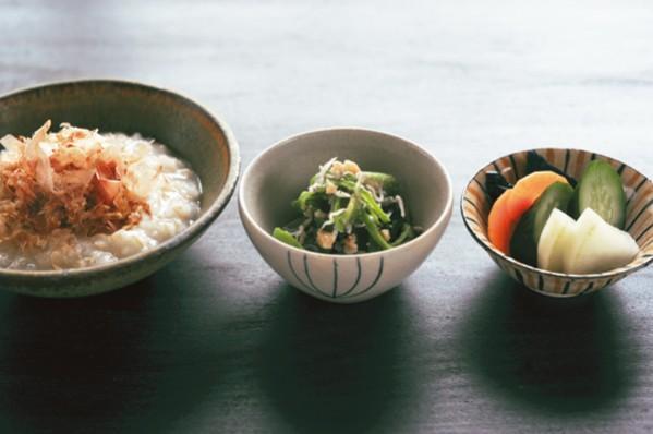 発酵パワー1週間 :金曜朝食 おかかたっぷり玄米がゆ