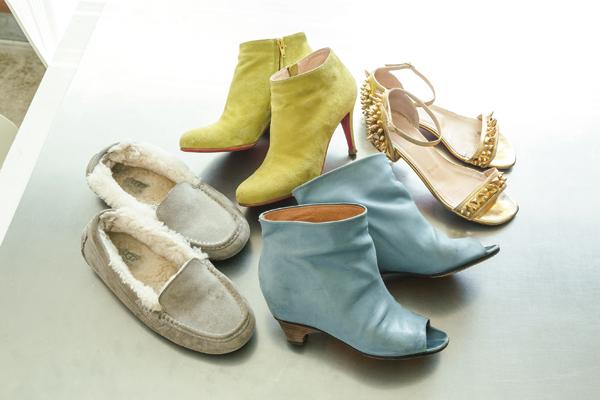 ... 靴」と「大人のペタンコ靴」⑤