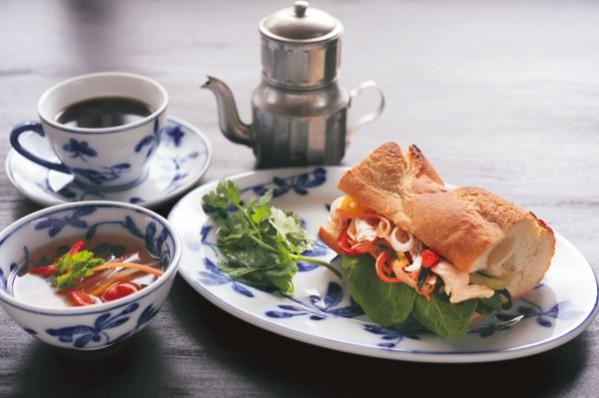 発酵パワー 1週間:金曜昼食 ベトナム風サンドなど