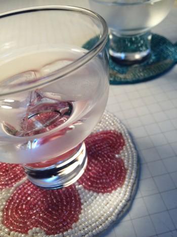 柳宗理さん 清酒グラス