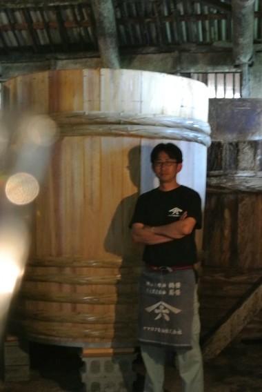 「ヤマロク醤油」5代目主人の山本康夫