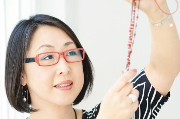 """森永のり子さん おしゃれな人の""""大人メガネ"""" ⑤"""