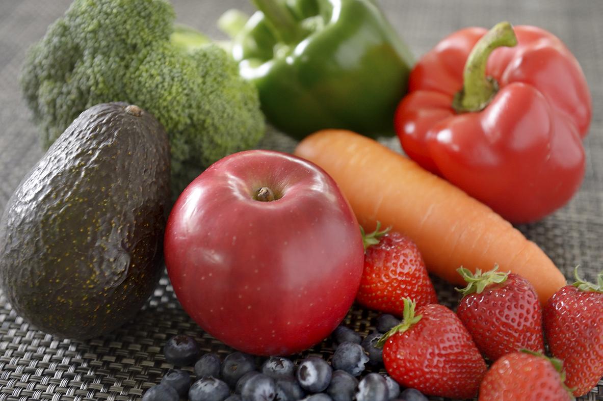 りんご、アボカド、その他野菜