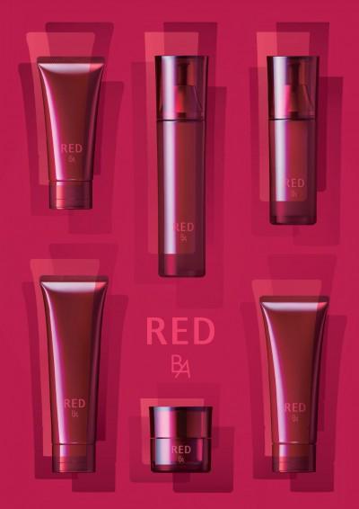 ポーラの新商品、B4 Redシリーズ