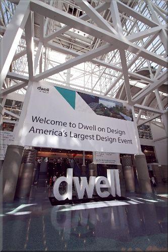 アメリカ最大級のデザインイベント入り口の様子