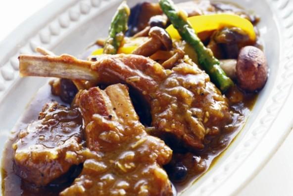 タンパク質ベースの「ブレインリフォーム・レシピ」 ④ラム肉ときのこのカレー煮込み