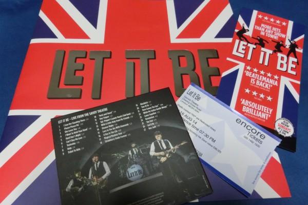 """""""LET IT BE """"  ロンドンでビートルズに会えました"""