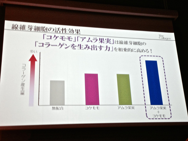 コラーゲン発表会_コケモモ