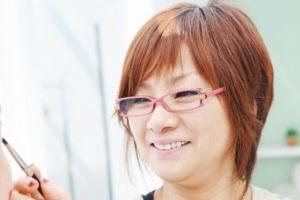 """後藤睦子さん おしゃれな人の""""大人メガネ""""(リーディンググラス)  ③"""